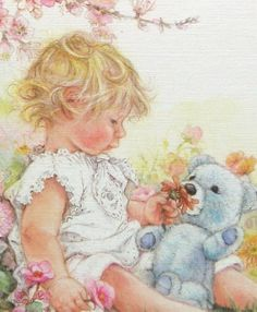 I love her art, I have only seen it on greeting cards
