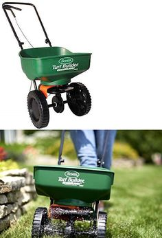 Seeders and Spreaders 118869: Scotts 5000 Sq Ft Turf Builder Edgeguard Mini Broadcast Fertilizer Spreader -> BUY IT NOW ONLY: $34 on eBay!