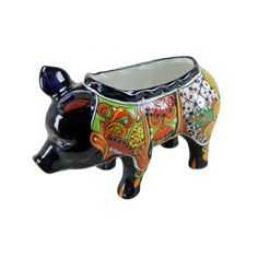 Extra Small Talavera Pig Pot