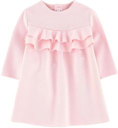 Il Gufo Milano jersey dress, You can collect images you discovered organize them, add your own ideas to your collections and share with other people. Outfits Teenager Mädchen, Cute Teen Outfits, Kids Outfits, Little Girl Dresses, Girls Dresses, Baby Dresses, Dresses Dresses, Moda Kids, Dress Anak
