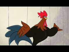 Dionysis Savvopoulos - The rooster wakes up - Official Animation Video Greek Music, Rooster, Animation, Animals, Youtube, Animales, Animaux, Animal, Animation Movies