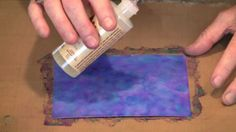 Alcohol Ink Techniques & Tips: Hydrangea, Mono-print & Marbling