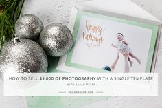 Kick off your most profitable season by selling fully customizable holiday cards to every client. Choose from original collections designed to help you get your photography noticed by hundreds (or thousands!) of new potential clients. Artist Brush, Creative Business, Photo Cards, Holiday Cards, Portrait Photography, Templates, Things To Sell, Frame, Blog