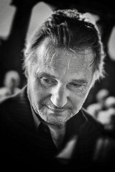 Liam Neeson - Portrait of Liam Neeson. Actor Liam Neeson, Natasha Richardson, Cinema, Ralph Fiennes, Celebrity Portraits, Irish Men, Portrait Inspiration, Leonardo Dicaprio, Best Actor
