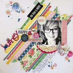 Scrapbook & Cards Today Blog: Colour Suite June with Summer Fullerton and Leslie Ashe!