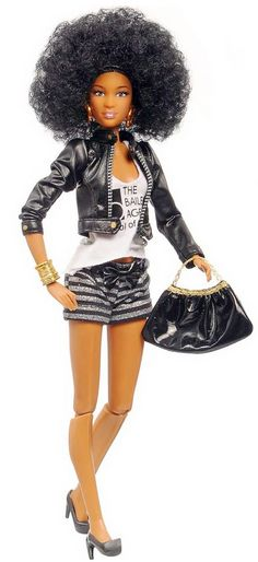 Roville's Blog: Prettie Girl One World Doll Project Cynthia Bailey collectible doll