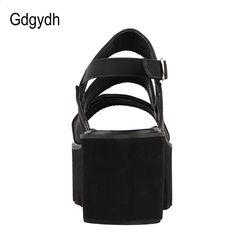 fe2f7e78 Gdgydh Rzym Style Ankle Wrap Kobiety Moda Sandały 2018 Nowe Letnie Damskie  Platformy Buty Kobieta Casual