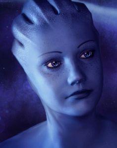 Liara T'soni Mass Effect Mass Effect Tattoo, Mass Effect Art, Aliens, Mass Effect Romance, Comic Art Girls, Mass Effect Universe, Science Fiction Art, Sex And Love, Dragon Age