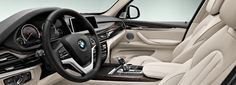 BMW X5 : Interior design