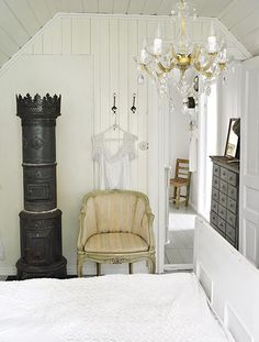 Gammel kjpmannsdisk - Se Norges vakreste hjem 2010 - Boligpluss.no