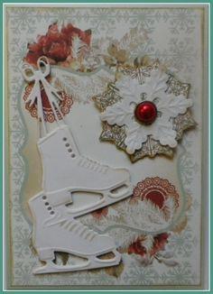 Carte Noël - creatables Marianne Design