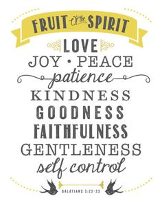 7 gifts of the holy spirit religious pinterest holy spirit free printable fruit of the spirit free printable scriptureprintable negle Images