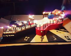 I didn't bake this but it certainly was a rock star treat - happy birthday Sameer and thank you for the great party. Peace & love:) #birthday #treat #goodlife #friends