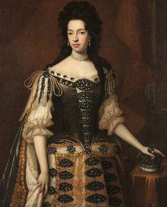 1685 Godfrey Kneller - Mary of Modena, wife of James, Duke of York, later James II