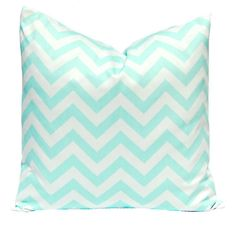 mint pillow by Katrin Lukina on Etsy