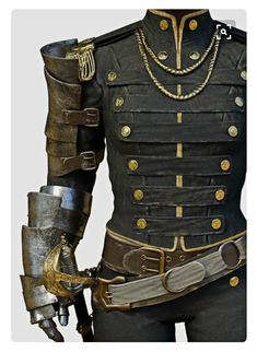 Jul 2017 - Get inspiration for a costume or simply look at cool stuff. See more ideas about Steampunk costume, Steampunk and Steampunk fashion. Costume Steampunk, Style Steampunk, Steampunk Clothing, Steampunk Men, Steampunk Fashion Men, Steampunk Gloves, Steampunk Outfits, Victorian Steampunk, Fantasy Costumes