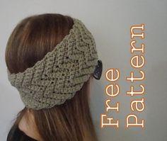 Quick Crochet Gift Ideas: Less Than 100 Yards Each!  on Mooglyblog.com. headband and matching boot cuffs