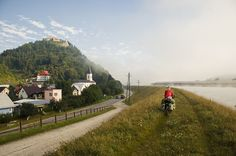 Cycling along Váh river, Slovakia by Brave Lemming, via Flickr