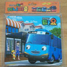 The Little Bus Tayo - Mini Puzzle 1 (12pcs + 16pcs) Korea TV Animation Toy