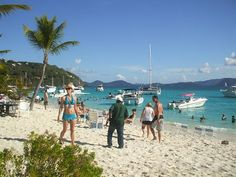 A usually exciting and fun day at White Bay, Jost Van Dyke, Virgin Islands, Uk