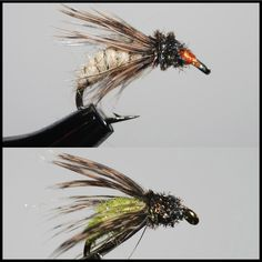 These two pupa match the majority of the natural caddis in all trout streams. These naturals may live anywhere from the slowest back eddies to the heaviest riffles so cover each pool carefully by drif