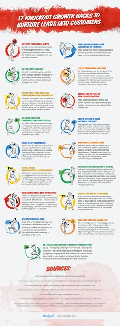 Knockout Growth Hacks to Nurture Leads into Customers [Infographic] 17 Knockout Growth Hacks to Nurture Leads into Customers Knockout Growth Hacks to Nurture Leads into Customers [Infographic] Marketing Automation, Inbound Marketing, Internet Marketing, Online Marketing, Affiliate Marketing, Sales And Marketing, Marketing Digital, Marketing Ideas, Lead Nurturing