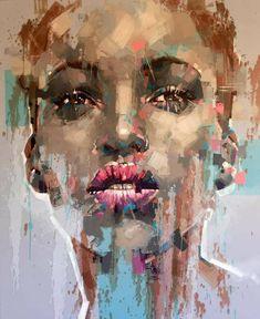 Jimmy Law, 1970   Abstract portrait painter   Tutt'Art@   Pittura * Scultura * Poesia * Musica  