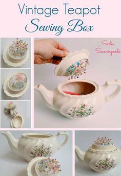 Teapot Pincushion Pattern Free Tutorial