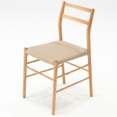軽量チェア・タモ材・ナチュラル 幅41×奥行48.5×高さ80.5cm | 無印良品ネットストア Muji, Dining Chairs, Study, Furniture, Home Decor, Studio, Decoration Home, Room Decor, Dining Chair