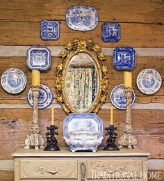 Charles Faudree Courtesy of The Enchanted Home via Traditional Home