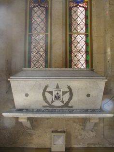 Sarcophagus Containing Remains of Alamo Heroes .... San Fernando Cathedral, San Antonio, Texas.