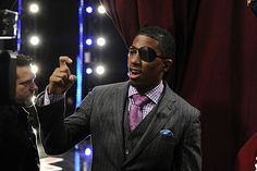 Argh! Yes, that is Nick Cannon making pirate moves. Get more behind-the-scenes action in our #AGT Tampa photo gallery! http://www.nbc.com/americas-got-talent/photos/behind-the-scenes-tampa-episode-709/11139#item=248207