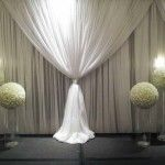 pipe and draping for hotel wedding ceremony - Google Search