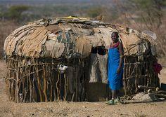 Samburu tribe house - Kenya
