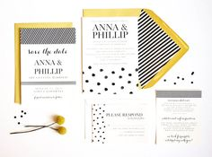 AllInclusive Wedding Suite // Invitation // by PuddleduckPaperCo, $50.00