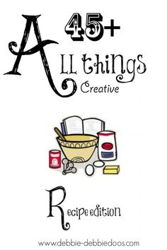 All things creative recipe edition
