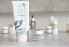 I use the Phyt's to cleanse and the balm to take off any excess makeup left behind.  The Phyt's leaves my skin super bright and hydrated.  It's an incredible cleanser.