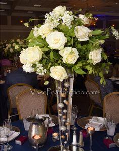 Elegant No Hole Floating Gold Pearl Vases Fillers for Centerpiece Decorations – Vase Pearlfection Elegant Centerpieces, Wedding Table Centerpieces, Centerpiece Decorations, Flower Centerpieces, Vases Decor, Wedding Decorations, Wedding Ideas, Wedding Crafts, Wedding Planning