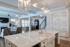 Farmhouse Style in Brookhaven - farmhouse - Kitchen - Atlanta - Blake Shaw Homes, Inc