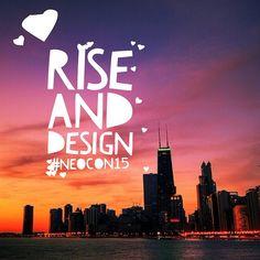 Rise and #design #neocon15 #NeoConography #chicago #interiordesign
