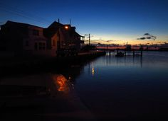 Sunset over Settlement Creek, Green Turtle Cay, Abaco, Bahamas Save