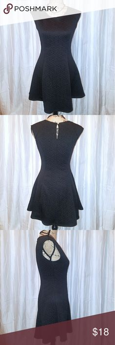 Super cute LBD from #FOREVER21 FOREVER 21 little black dress,  excellent condition. Fit and flare skirt Forever 21 Dresses