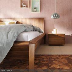 Wandgestaltung in Altrosa   roomido.com