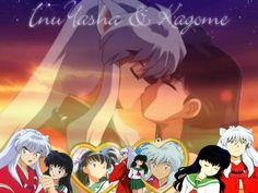 inuyasha | Inuyasha and Kagome Kiss!