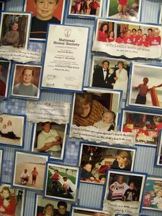 awesome blog for creating memory boards!