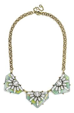 BaubleBar 'Crystal Prism' Collar Necklace available at #Nordstrom