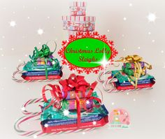 Christmas Decorations Lolly - Unique Christmas Decorations Lolly , Christmas Lolly Sleighs Stay at Home Mum Fundraising Christmas Treats To Make, Christmas Craft Show, Christmas Crafts For Gifts, Felt Christmas, Christmas Sleighs, Christmas Stuff, Christmas Baking, Craft Gifts, Merry Christmas