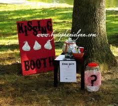 hershey kisses kissing booth sign - Google Search