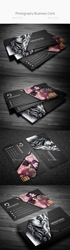 Photography Business Card #template #creative #business