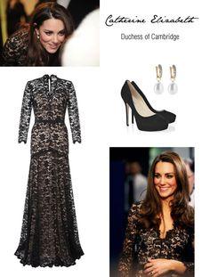 """""""Kate Middleton"""" by pihhla on Polyvore"""